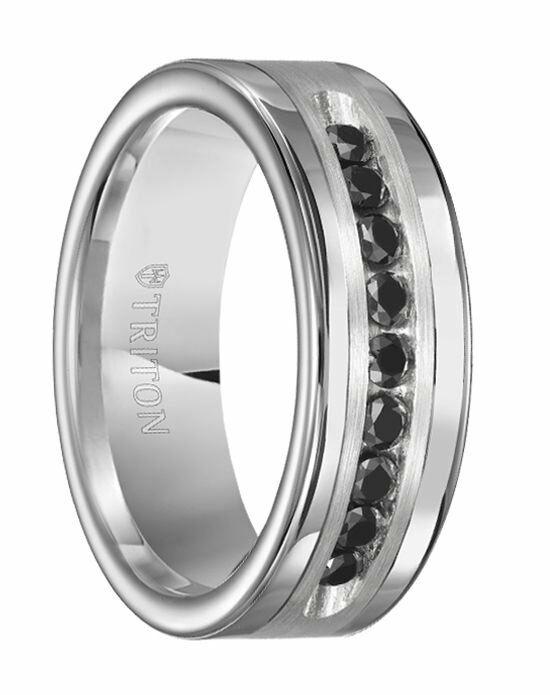 larson jewelers silas polished tungsten carbide wedding