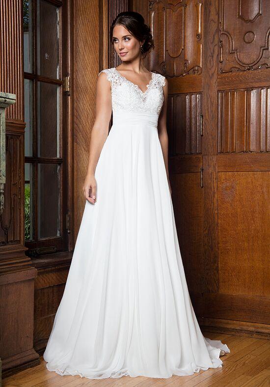 Empire wedding dress images