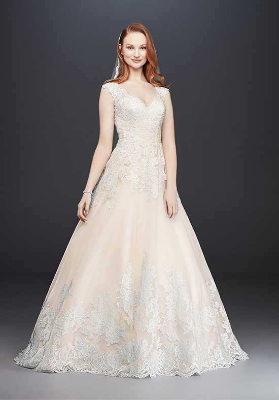 David's Bridal David's Bridal Collection Style WG3850 Ball Gown Wedding Dress