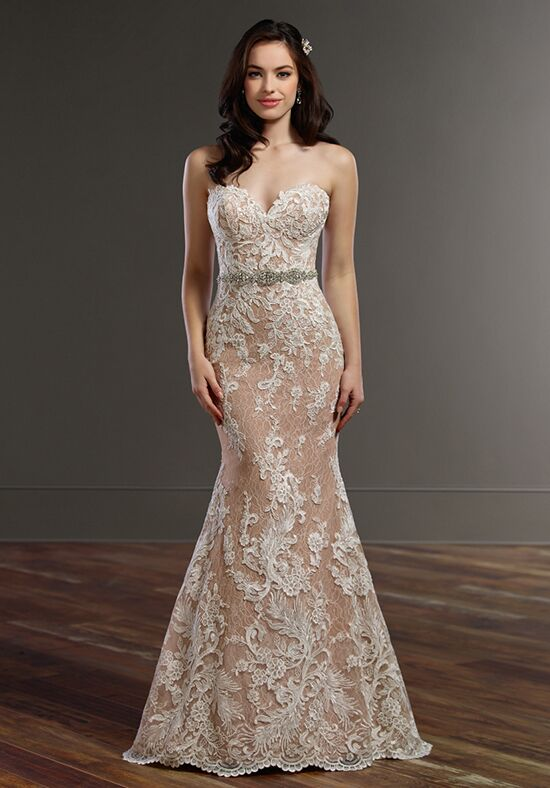Martina Liana 859 Mermaid Wedding Dress