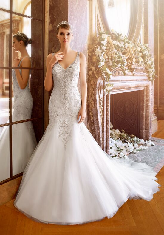 Moonlight Couture H1319 Mermaid Wedding Dress