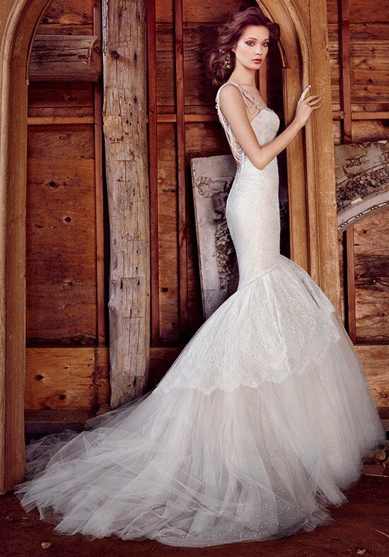 Lazaro 3556 Mermaid Wedding Dress