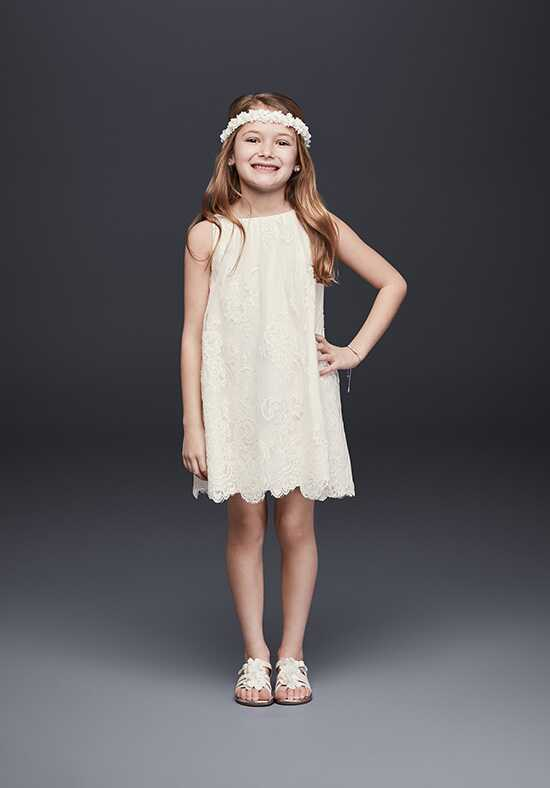 David's Bridal Flower Girl David's Bridal Style RK1361 Ivory Flower Girl Dress