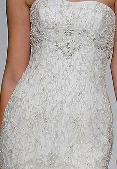 Kenneth Pool Knockout Mermaid Wedding Dress