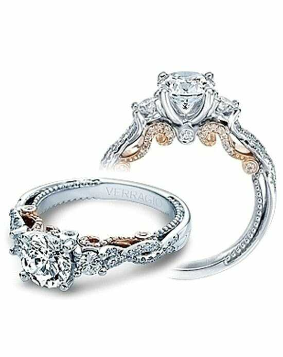 Since1910 Unique Round Cut Engagement Ring