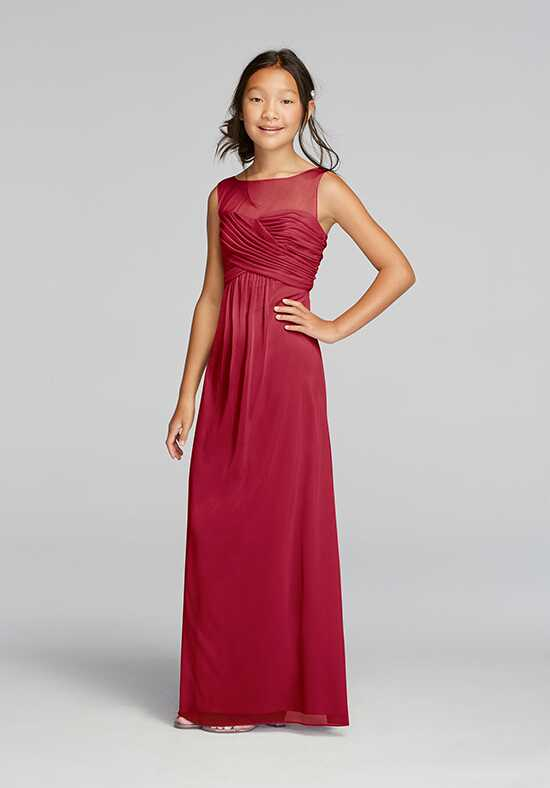 David's Bridal Collection David's Bridal Style JB9010 Illusion Bridesmaid Dress