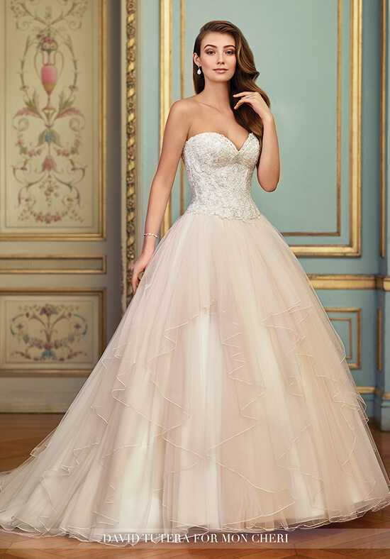 David Tutera for Mon Cheri 117285 Aurinda A-Line Wedding Dress