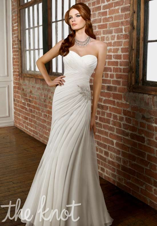 Morilee by Madeline Gardner/Blu 4862 Sheath Wedding Dress