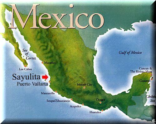 Sayulita Mexico Map Google.Adam Bramble And Alex Green S Wedding Website