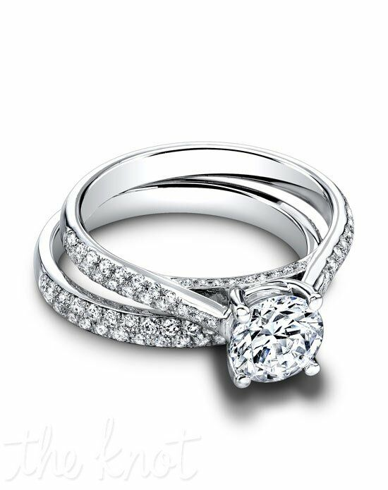 Jeff Cooper RP-1505 & RP-1505B Palladium, Platinum, White Gold Wedding Ring