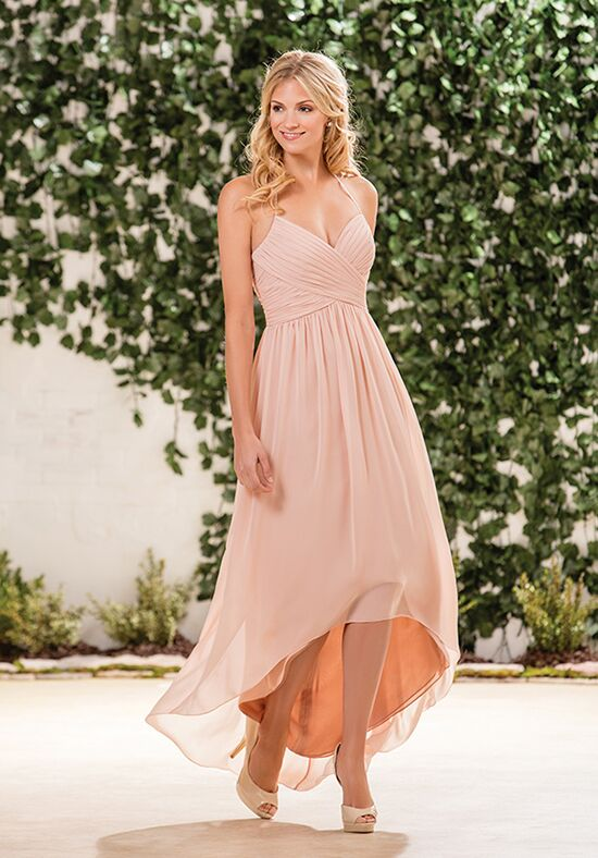 B2 by Jasmine B183057 Halter Bridesmaid Dress