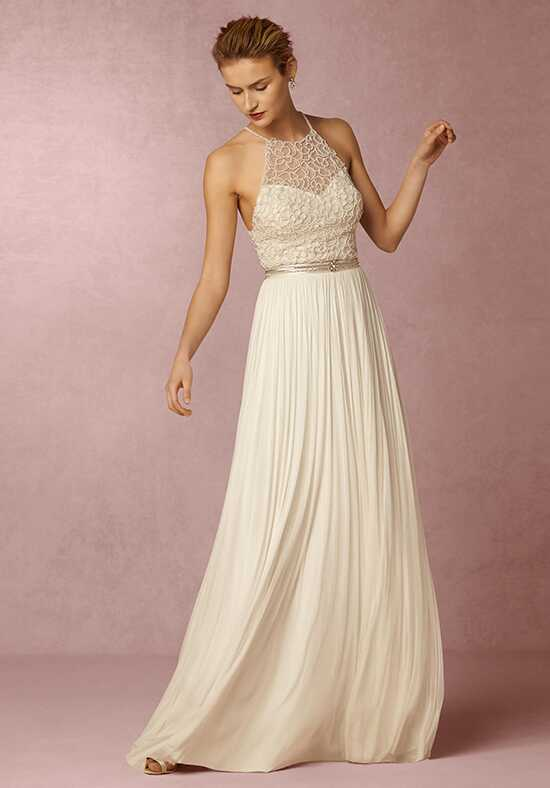 BHLDN Ashlyn Top & Anika Tulle Skirt A-Line Wedding Dress