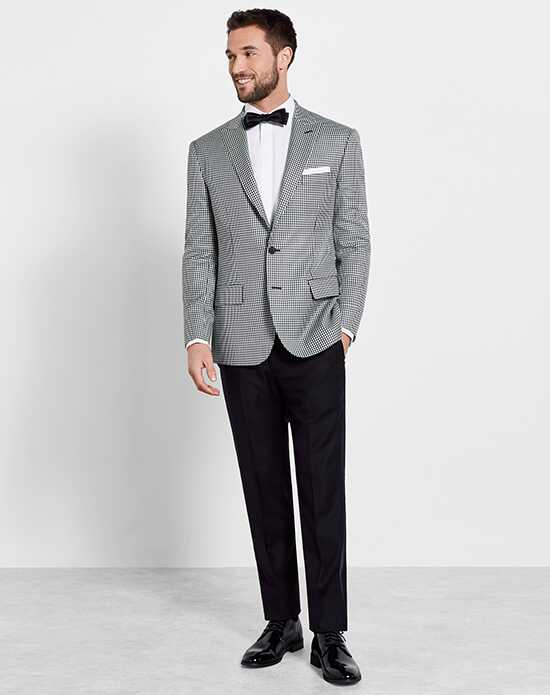 The Black Tux Gingham Jacket Tuxedo Wedding Tuxedos + Suit photo