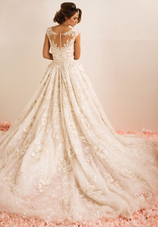 Ysa makino kym152 wedding dress the knot for Ysa makino wedding dress