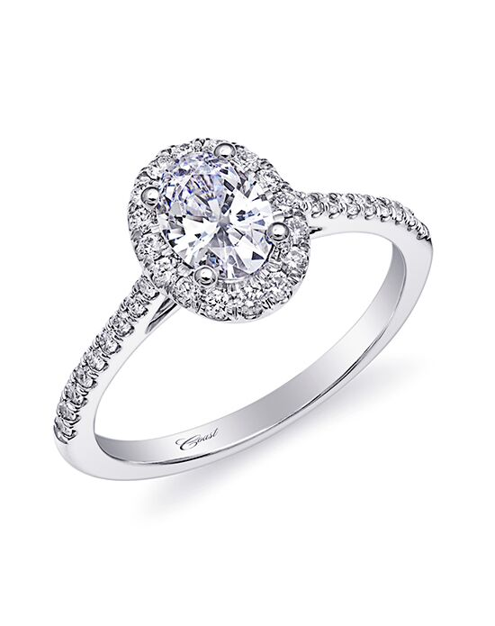 Coast Diamond Elegant Oval Cut Engagement Ring