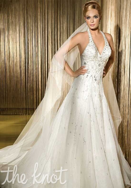 Demetrios 507 A-Line Wedding Dress