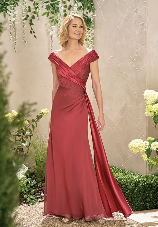 Jade J195003 Red Mother Of The Bride Dress