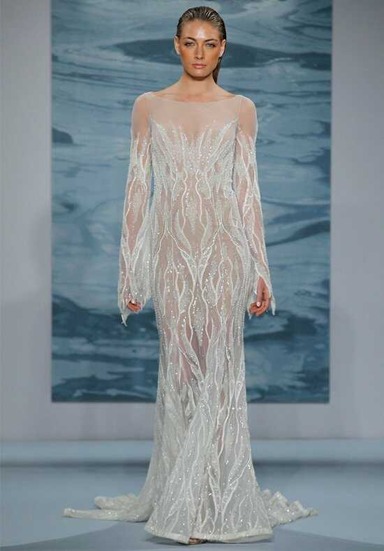 Mark Zunino for Kleinfeld 114 Sheath Wedding Dress