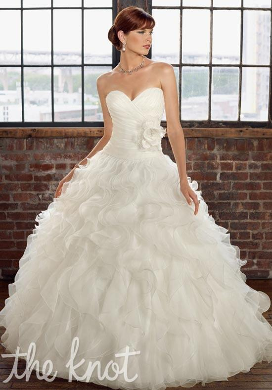 Blu by Madeline Gardner 4816 Wedding Dress photo