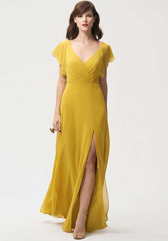 Jenny Yoo Collection (Maids) Alanna V-Neck Bridesmaid Dress