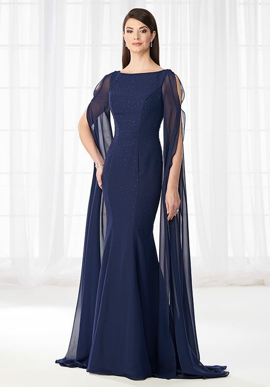 Cameron Blake 218627 Blue Mother Of The Bride Dress
