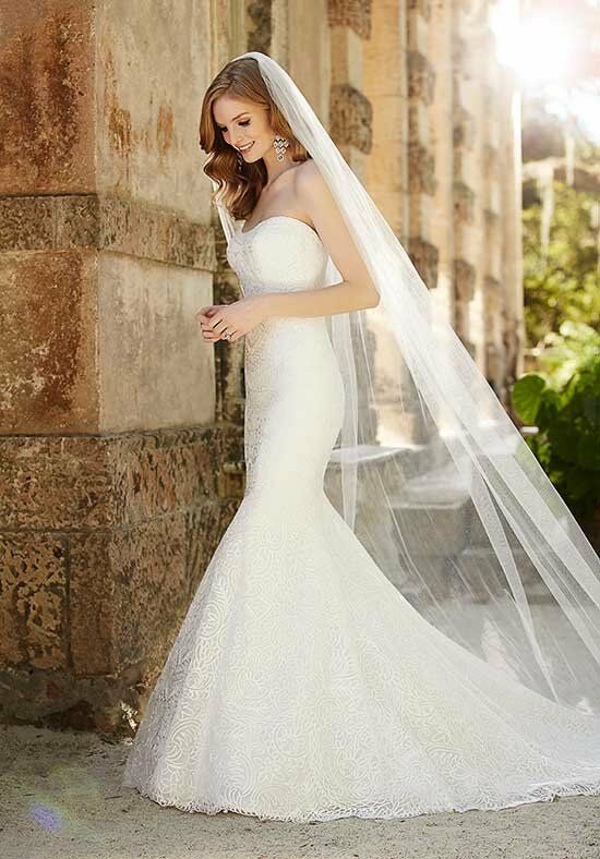 Martina Liana 697 Mermaid Wedding Dress