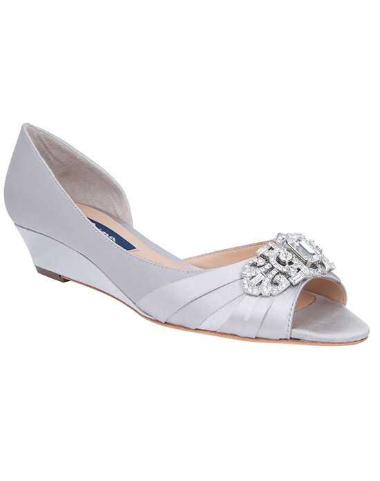 Nina Bridal Wedding Accessories Radha_Silver Silver Shoe