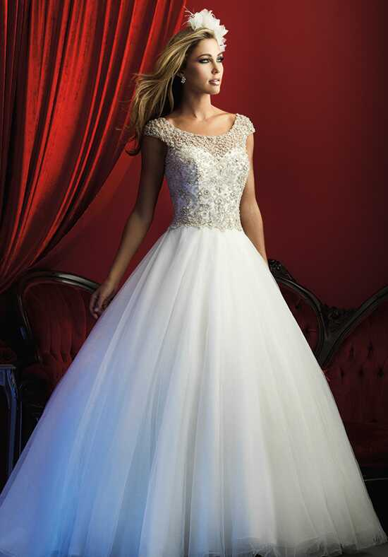 Allure Couture C370 Ball Gown Wedding Dress