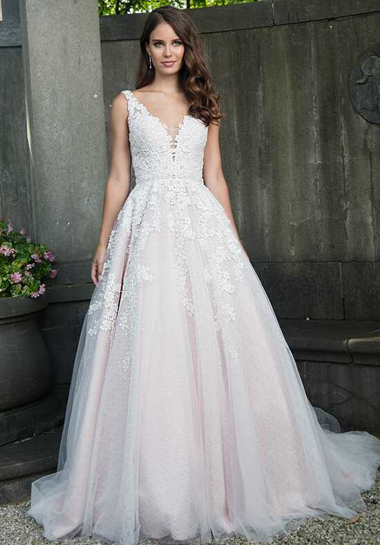 Lo' Adoro M636 Ball Gown Wedding Dress