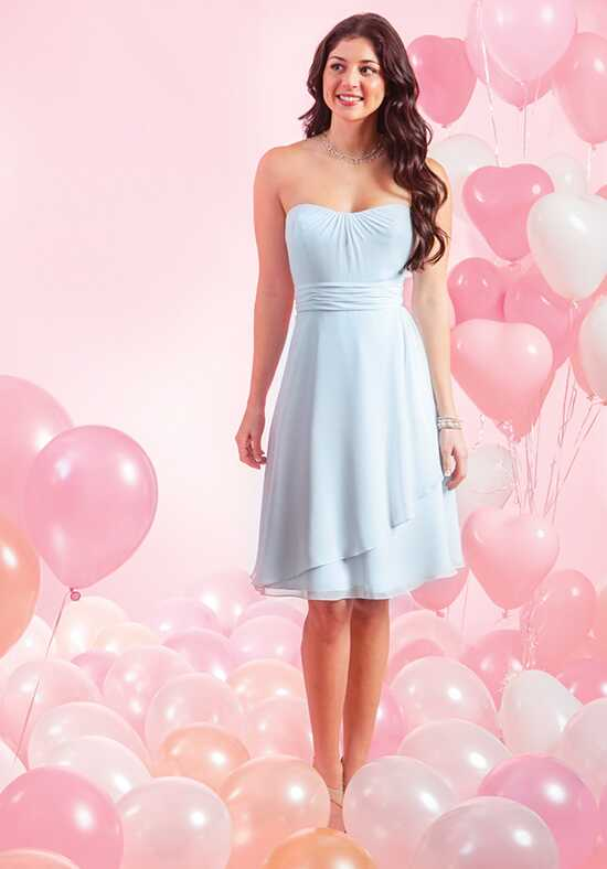 Alfred Angelo Signature Bridesmaids Collection 7384S Neckline Bridesmaid Dress