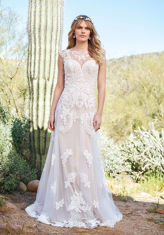 Lillian West 6512 A-Line Wedding Dress
