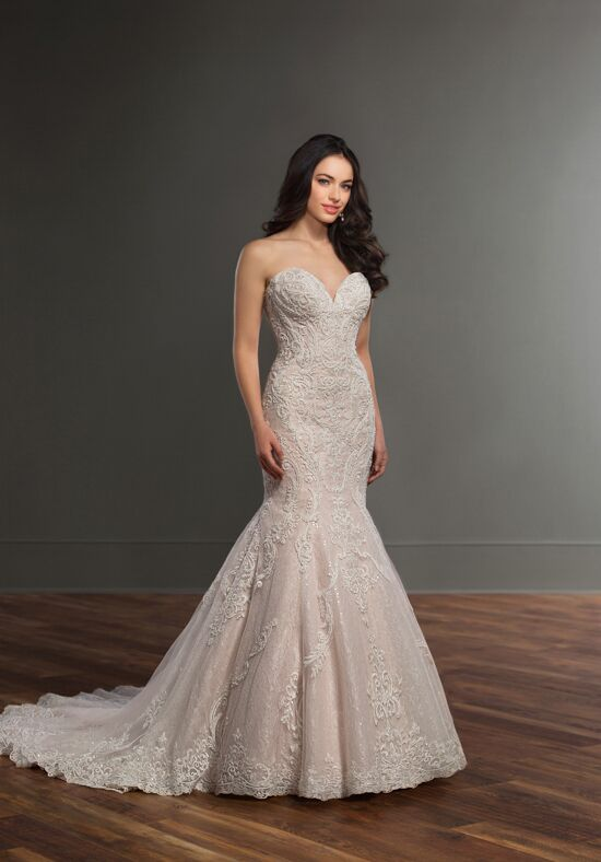 Martina Liana 895 Mermaid Wedding Dress