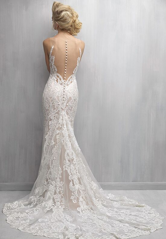 Madison james mj271 wedding dress the knot for Madison james wedding dress prices