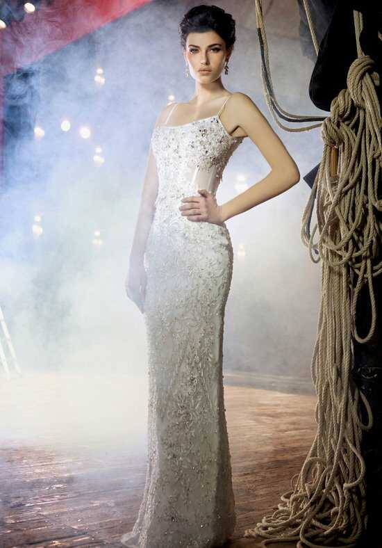 Stephen Yearick KSY46 Sheath Wedding Dress