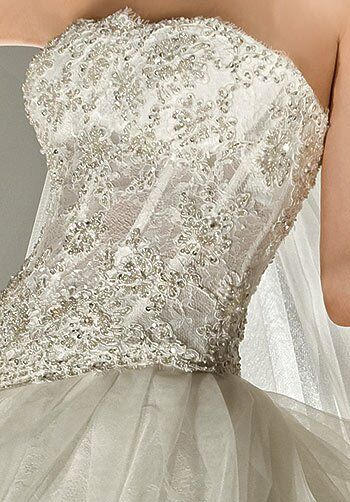 Demetrios 2843 Ball Gown Wedding Dress