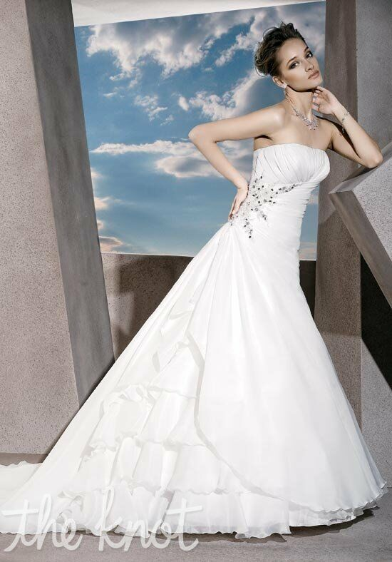 Demetrios 3176 A-Line Wedding Dress