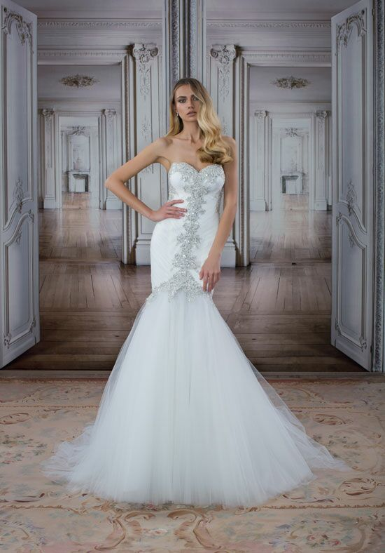 LOVE by Pnina Tornai for Kleinfeld 14481 Mermaid Wedding Dress