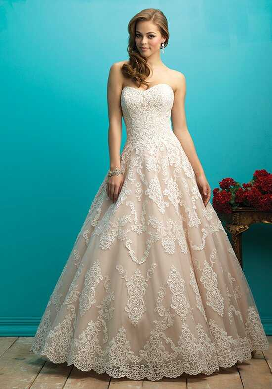 Allure Bridals 9268 A-Line Wedding Dress