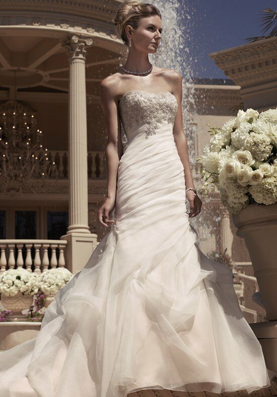 Casablanca Bridal 2107 Mermaid Wedding Dress