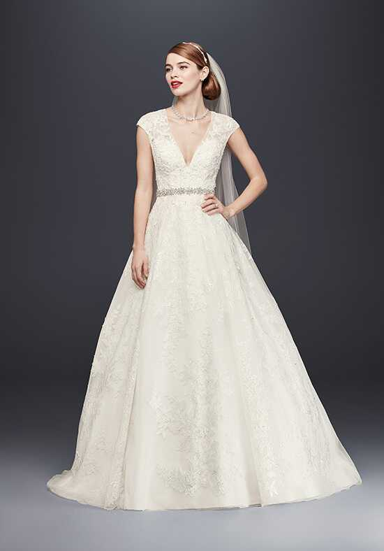Oleg Cassini at David's Bridal Oleg Cassini at David's Bridal Style CWG748 Ball Gown Wedding Dress