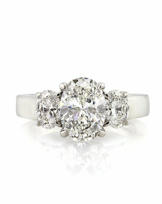 Mark Broumand Classic Oval Cut Engagement Ring