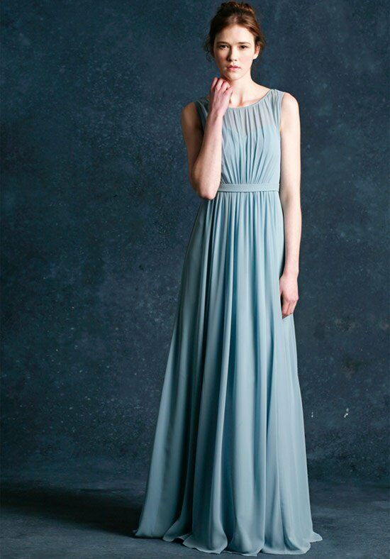Jenny Yoo Collection (Maids) Vivienne-1381 Bateau Bridesmaid Dress