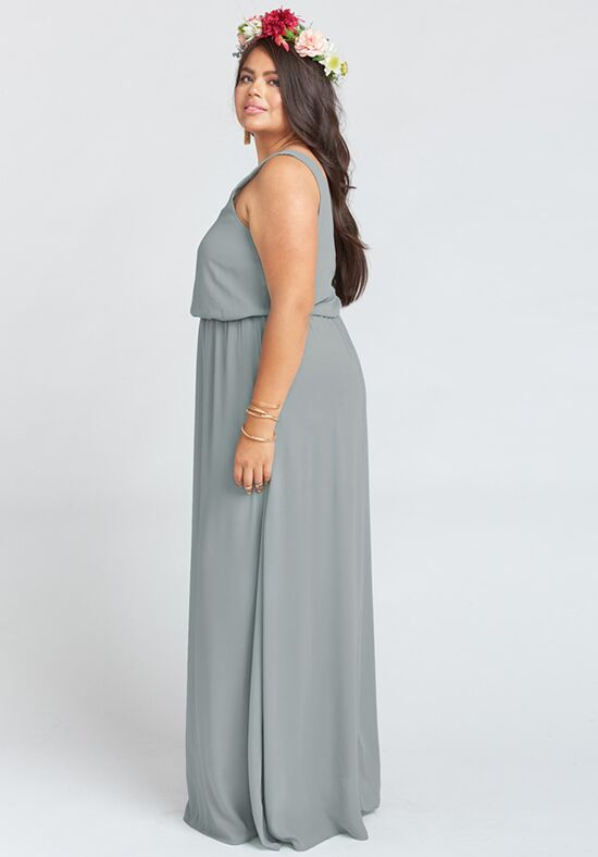 show me your mumu kendall wedding cake show me your mumu kendall maxi dress soft charcoal crisp 19807
