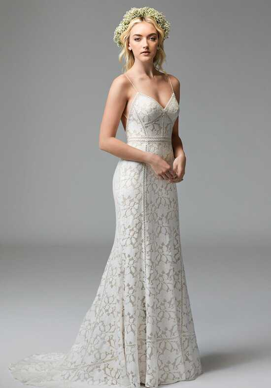 Willowby by Watters Vivienne 57128 Sheath Wedding Dress