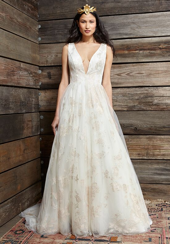 Fabulous Ivy & Aster Cherry Blossom Wedding Dress - The Knot XZ25