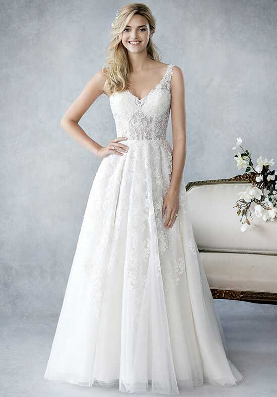 Kenneth Winston: Ella Rosa Collection BE429 A-Line Wedding Dress