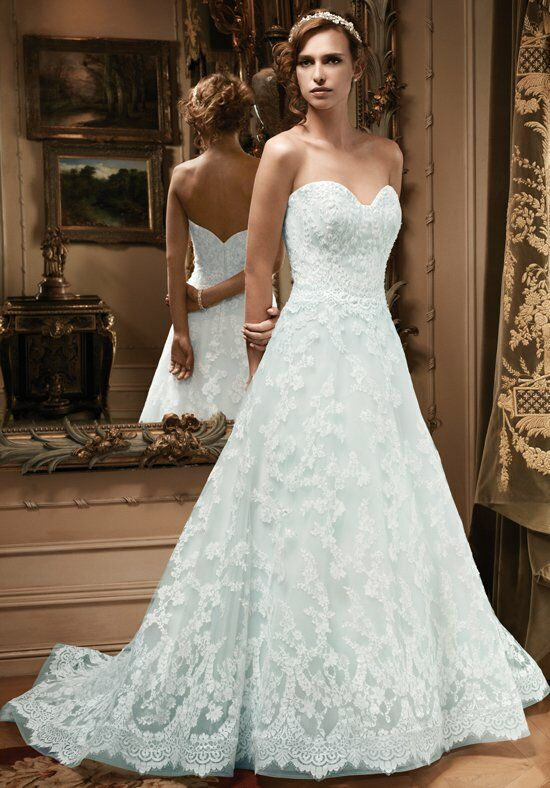 Casablanca Bridal 2127 A-Line Wedding Dress