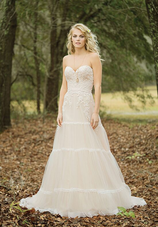 Lillian West 6451 A-Line Wedding Dress