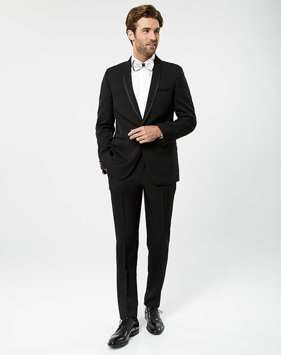 LE CHÂTEAU Wedding Boutique Tuxedos MENSWEAR_359984_010 Black Tuxedo