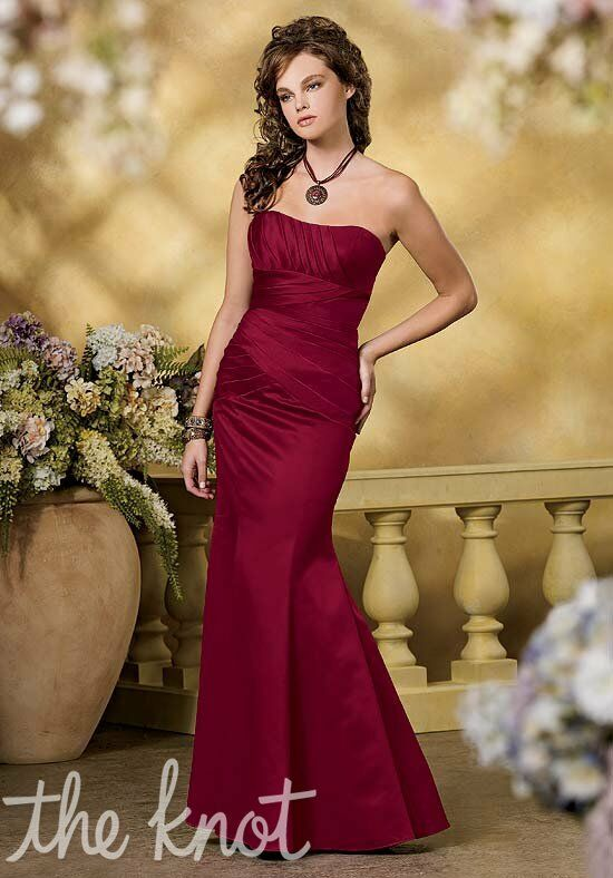 Jordan 861 Strapless, Sweetheart Bridesmaid Dress